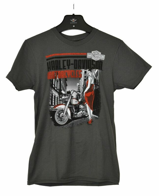 Dealer T-Shirt Men Short Sleeve Street View