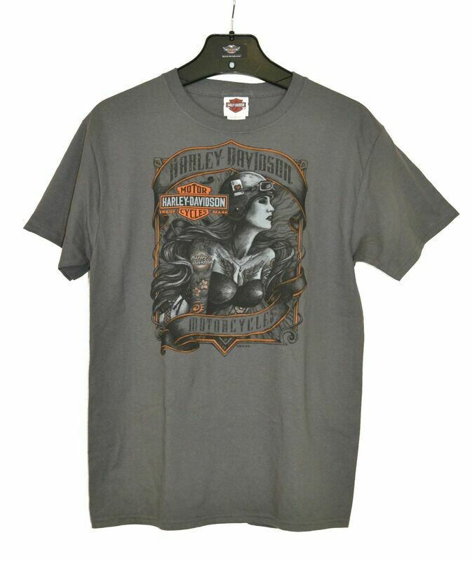 Dealer T-Shirt Men Short Sleeve Pinup Tonal