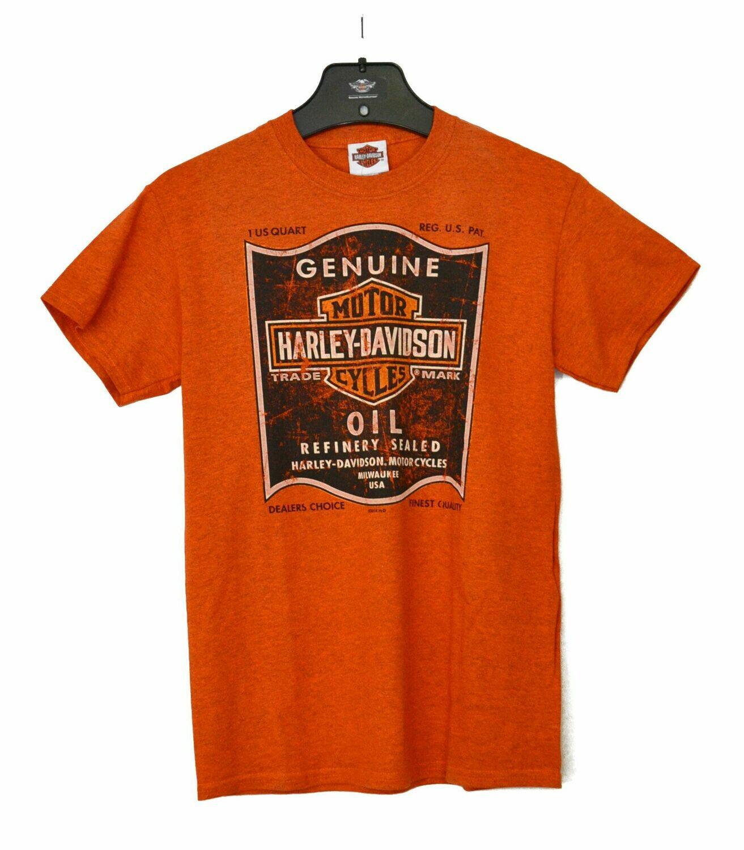T-Shirt Men Short Sleeve Backprint Shop Oil