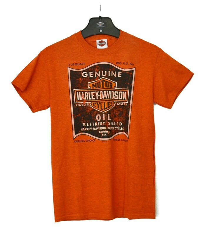 Dealer T-Shirt Men Short Sleeve Shop Oil