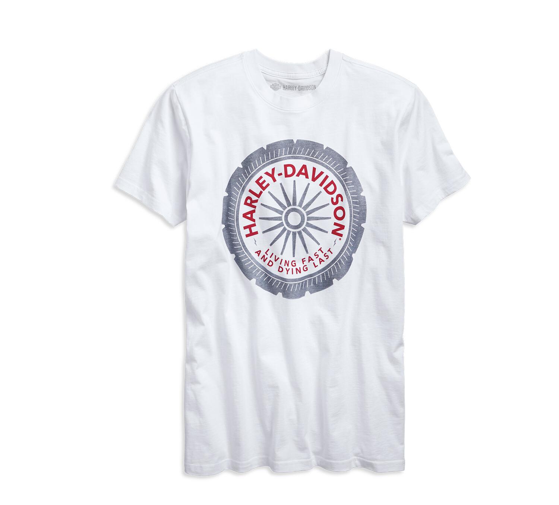 T-Shirt Men Short Sleeve Garage Living Fast Slim Fit