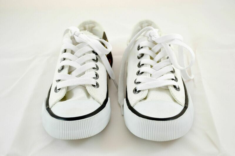 Sneakers Men Roarke White Canvas