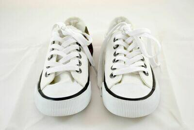 Sneakers Men Roarke White Canvas