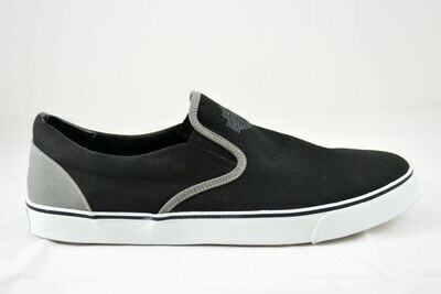 Sneakers Men Marchmont Black and Grey Canvas