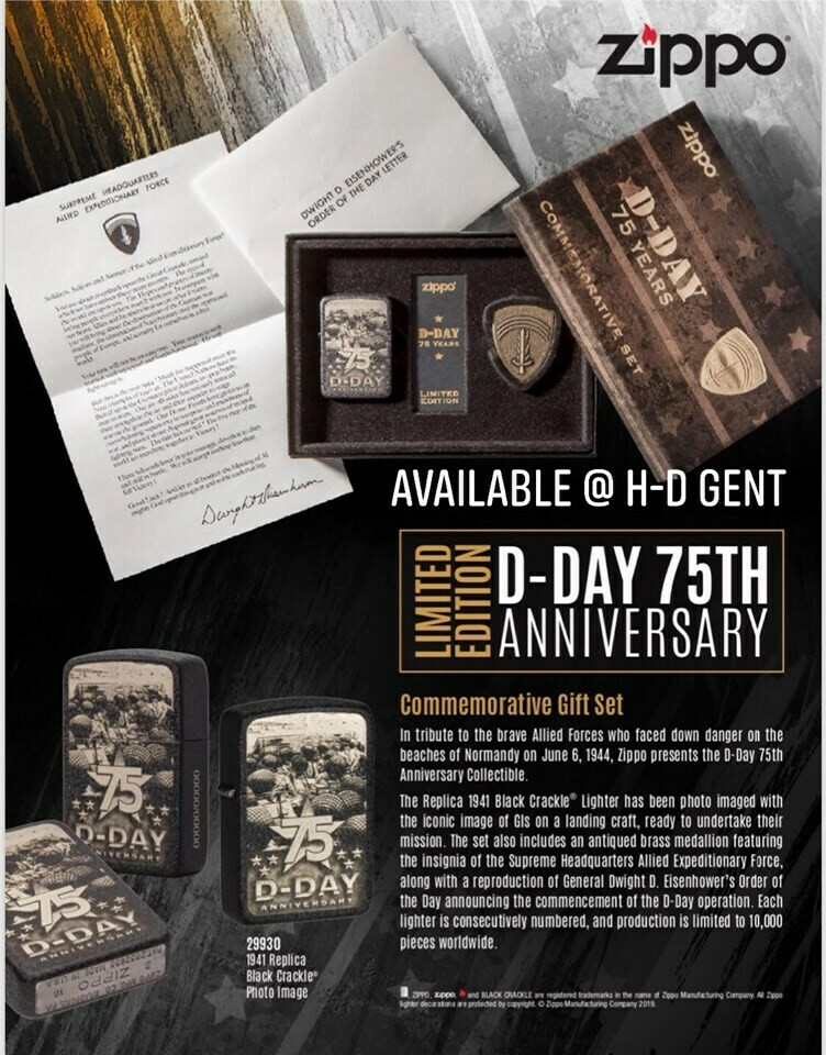 ZIPPO 75th anniversary D-DAY - Limited availabilty