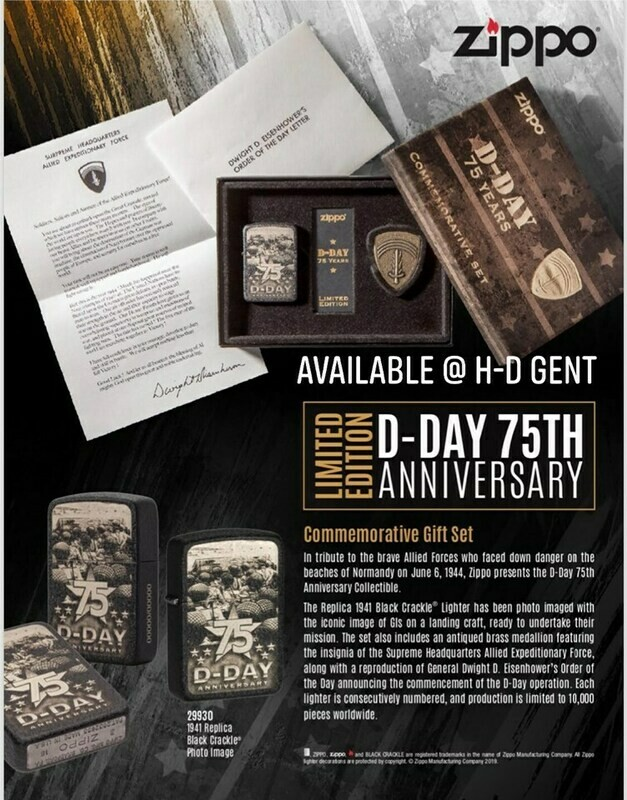 ZIPPO D-DAY 75th Anniversary - Limited availabilty