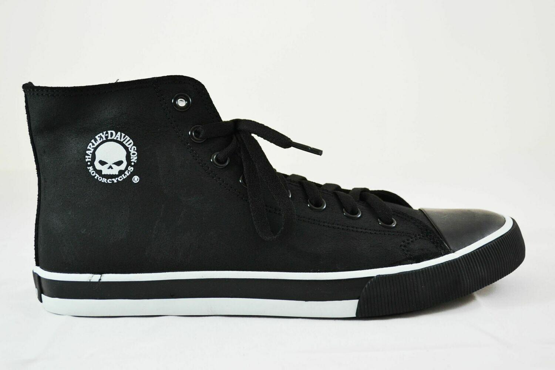 Sneakers Men Baxter White Skull Leather Upper
