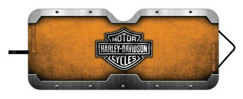 H-D B&S  Accordeon Sunshade for Car Windows
