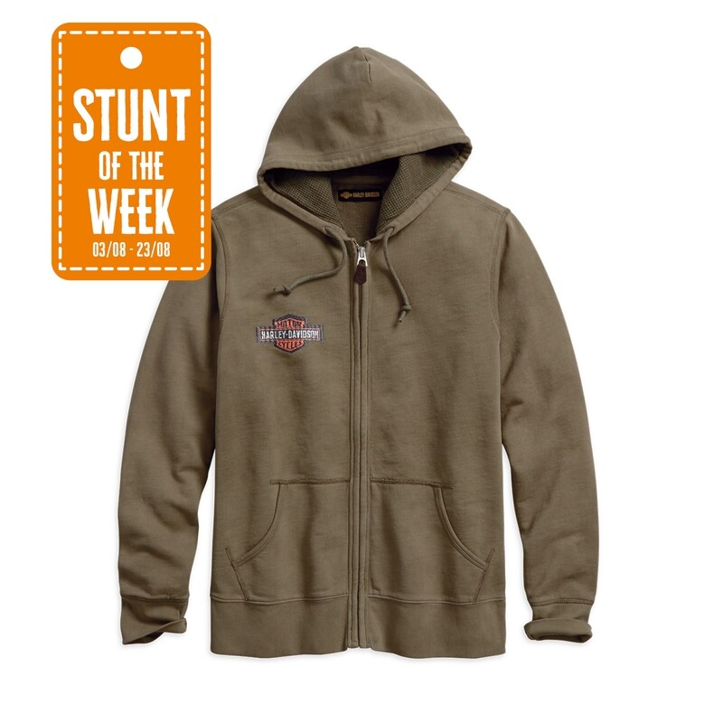 STUNT OF THE WEEK: 1903 Oak Leaf Sublimated Slim Fit Hoodie Men