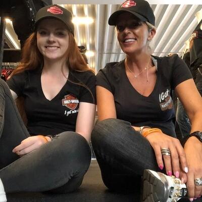 Dealer T-Shirt Women Short Sleeve I got mine Black - orange