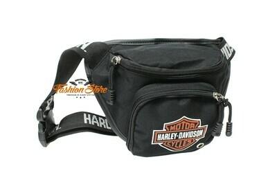 Bag Belt Harley-Davidson® B&S Logo Orange, Water-Resistant