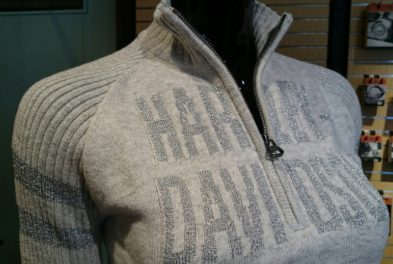 Pullover Women Sweater Ski 1/4-Zip Raglan Sleeve Light Gray 