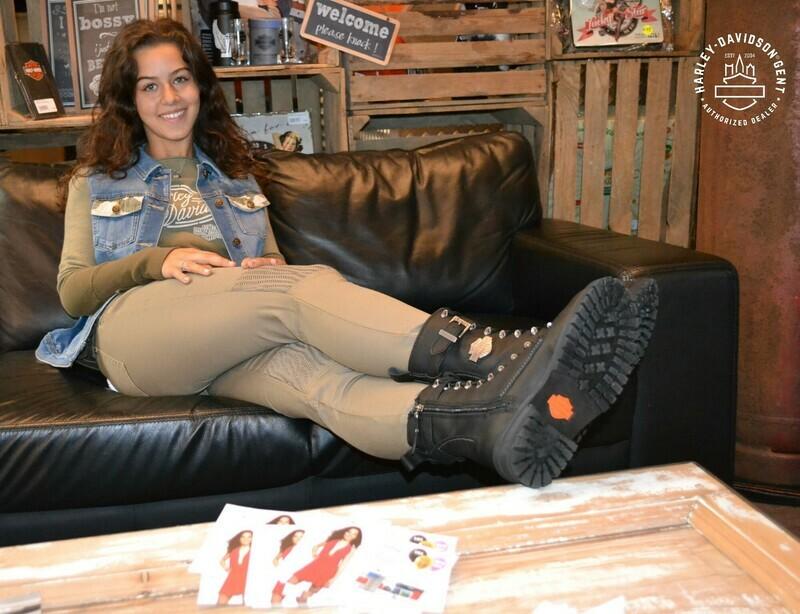 Boots Women CE-certified Calvert Black Leather
