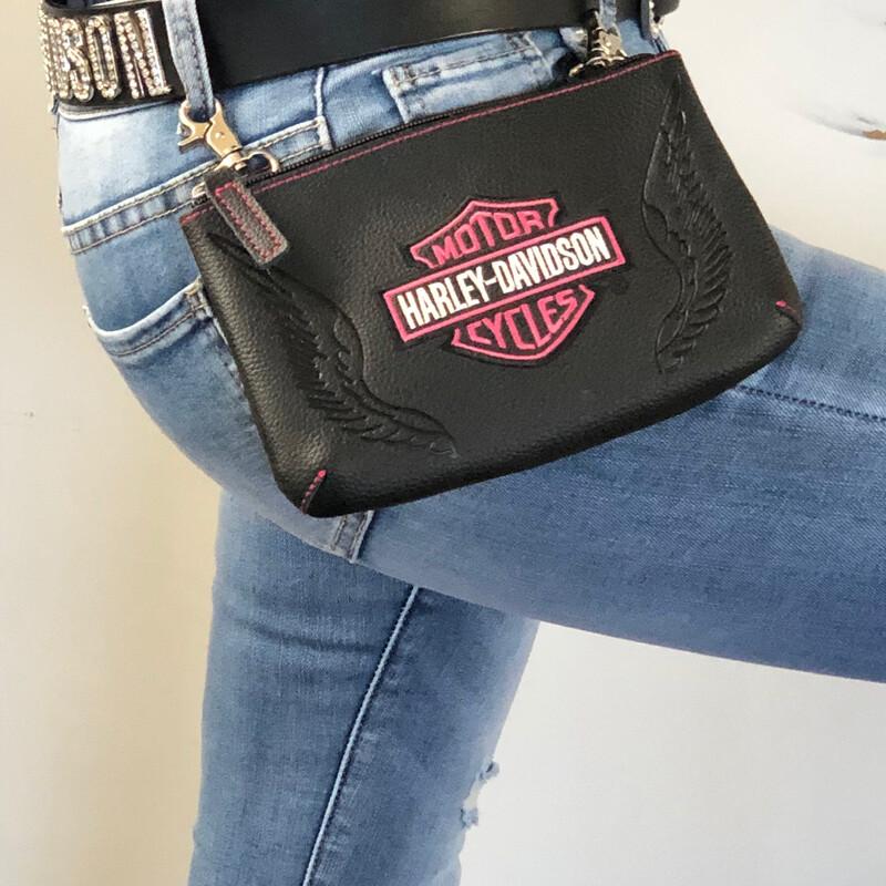 Bag Hip Pink Label B&S Logo