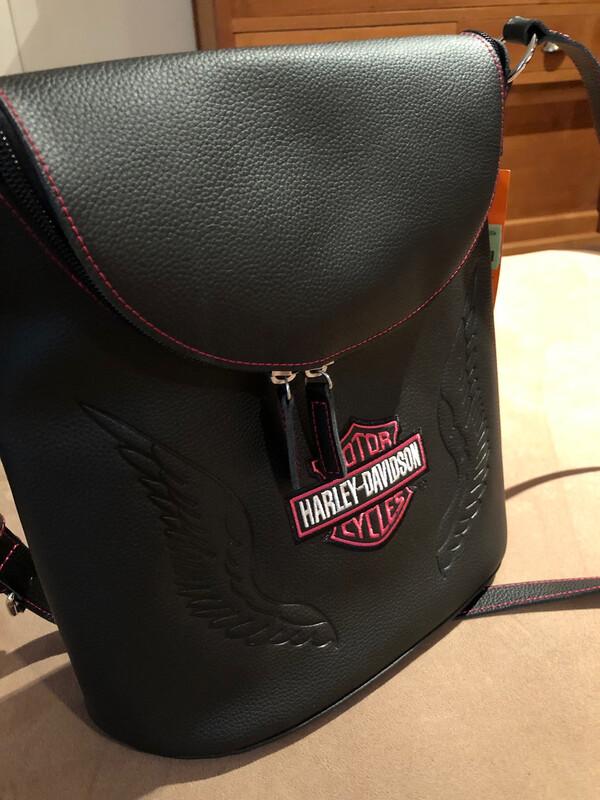 Bag Flap Hobo Pink Label H-D