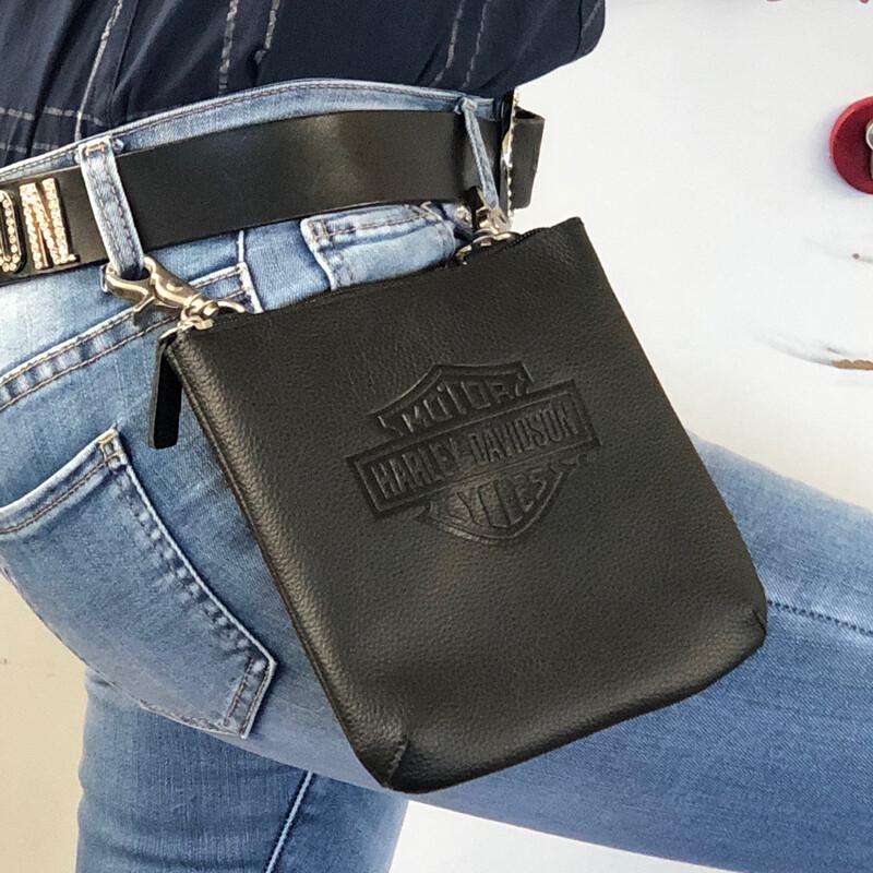 Bag Hip Vertical B&S Black