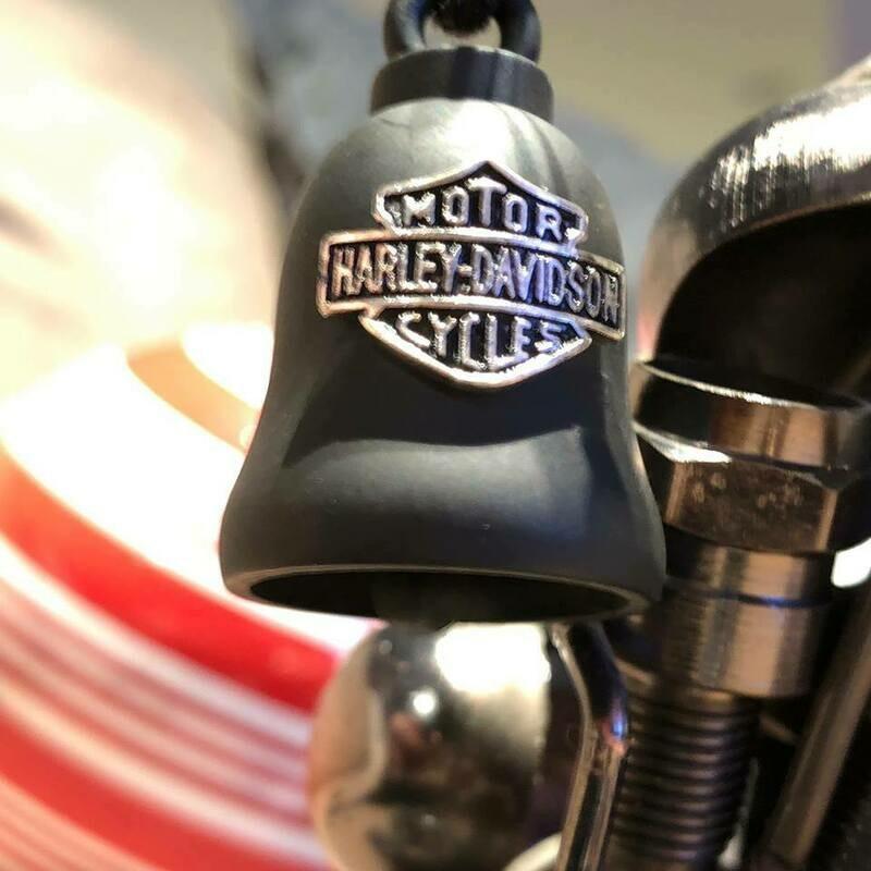 Harley-Davidson® B&S Logo Motorcycle Ride Bell, Black