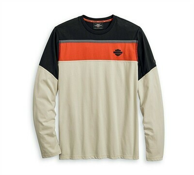 T-Shirt Man PERFORMANCE MESH ACCENT LONG SLEEVE