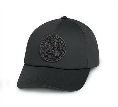 Cap Men FLAMING SKULL ADJUSTABLE CAP
