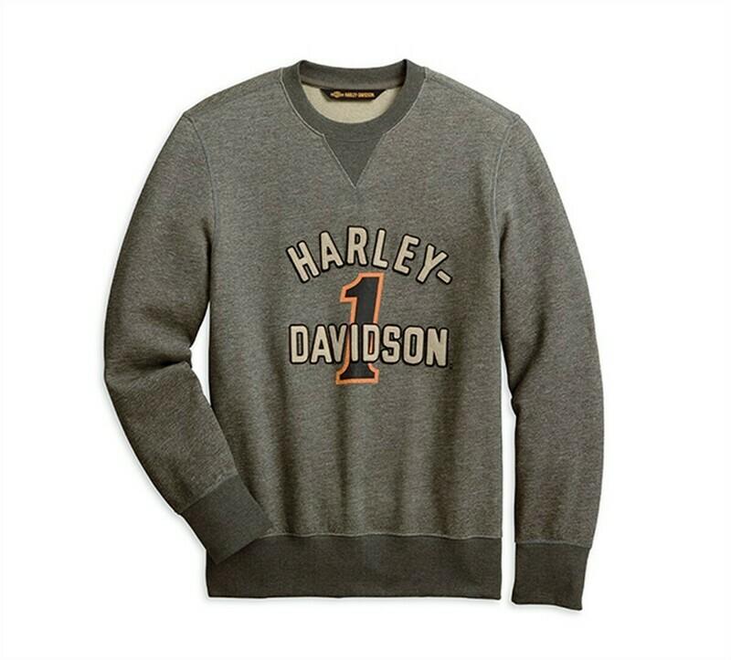 Sweatshirt Pullover Men #1 Racing