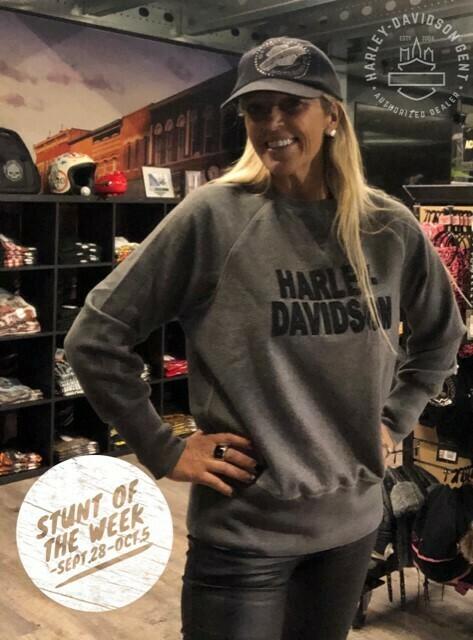 Sweatshirt Women Harley-Davidson® Pullover | Felt Lettering