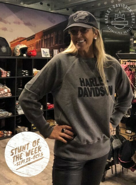1*STUNT OF THE WEEK* - Sweatshirt Women Harley-Davidson® Pullover | Felt Lettering