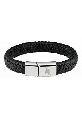 Bracelet Braided Leather - Official Zippo