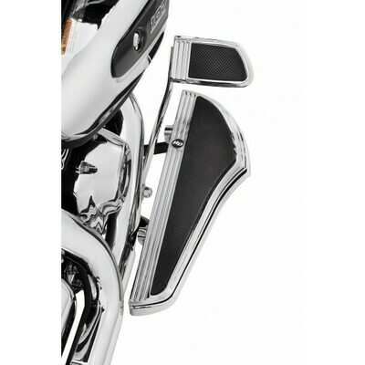 P&A - Defiance Footboard Kit Rider Chrome