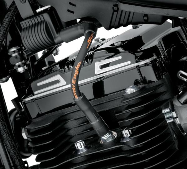 P&A - SE 10 MM PHAT SPARK PLUG WIRES - BLACK XL