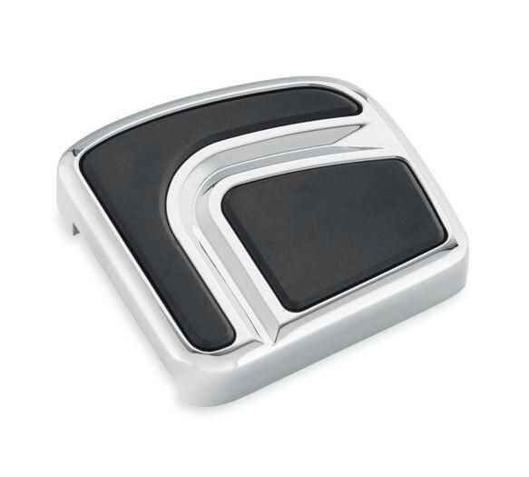P&A - Brake Pedal Pad Airflow Chrome