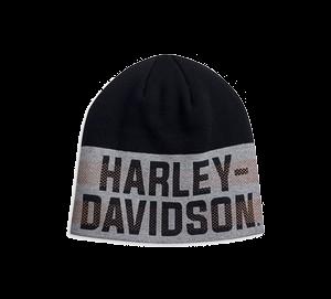 Knit Hat Dual Stripe - Harley-Davidson