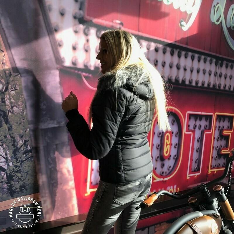 Jacket Women CE approved Riding WAYFARER Water-Resistant Hoodie