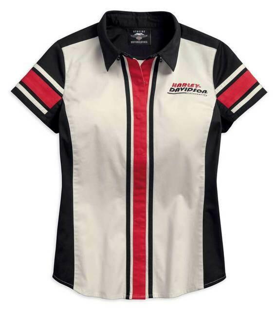 Shirt Women Vertical Stripe Zippered