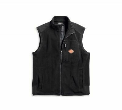 Men Fleece Vest Windproof