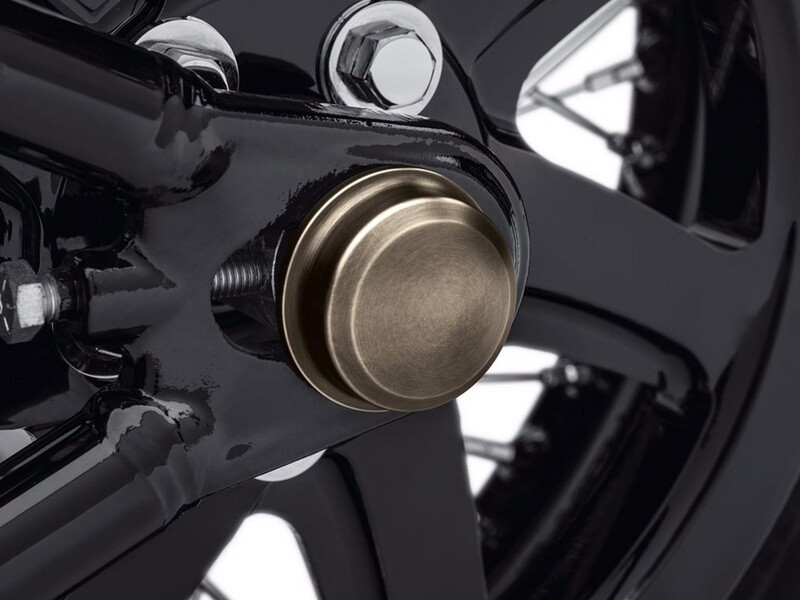 P&A - Brass Rear Axle Covers
