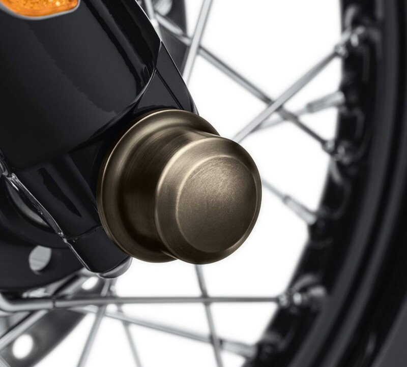 P&A - Brass Fr. Axle Nut cover