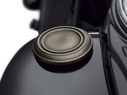 P&A - Brass Collection Faux Fuel Cap Softail 18-Later