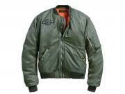 Jacket Women Winged Logo Bomber Military Green