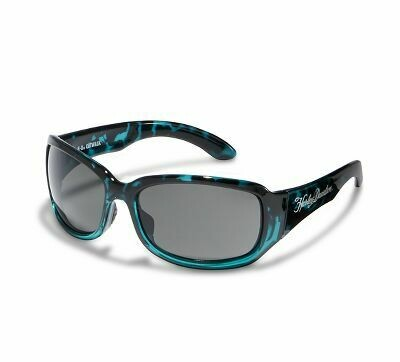 Wiley X HD Women's Catwalk Sunglasses Smoke gray lenses with stunning green demi fade frames