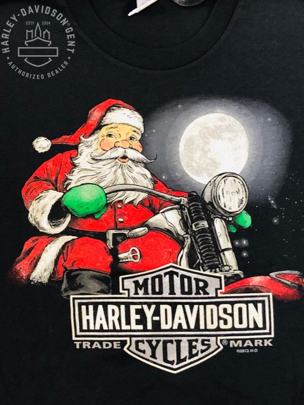 Dealer Shirt Men Short Sleeve Biker Claus