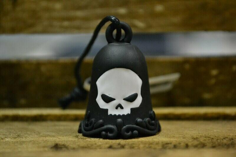 Harley-Davidson® Ride Bell Skull white & black