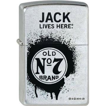 ZIPPO Jack Daniel's® Jack lives here