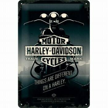 Tin Sign Harley-Davidson