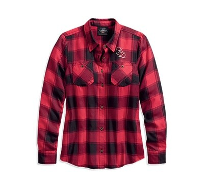 Shirt Women World Famous Plaid