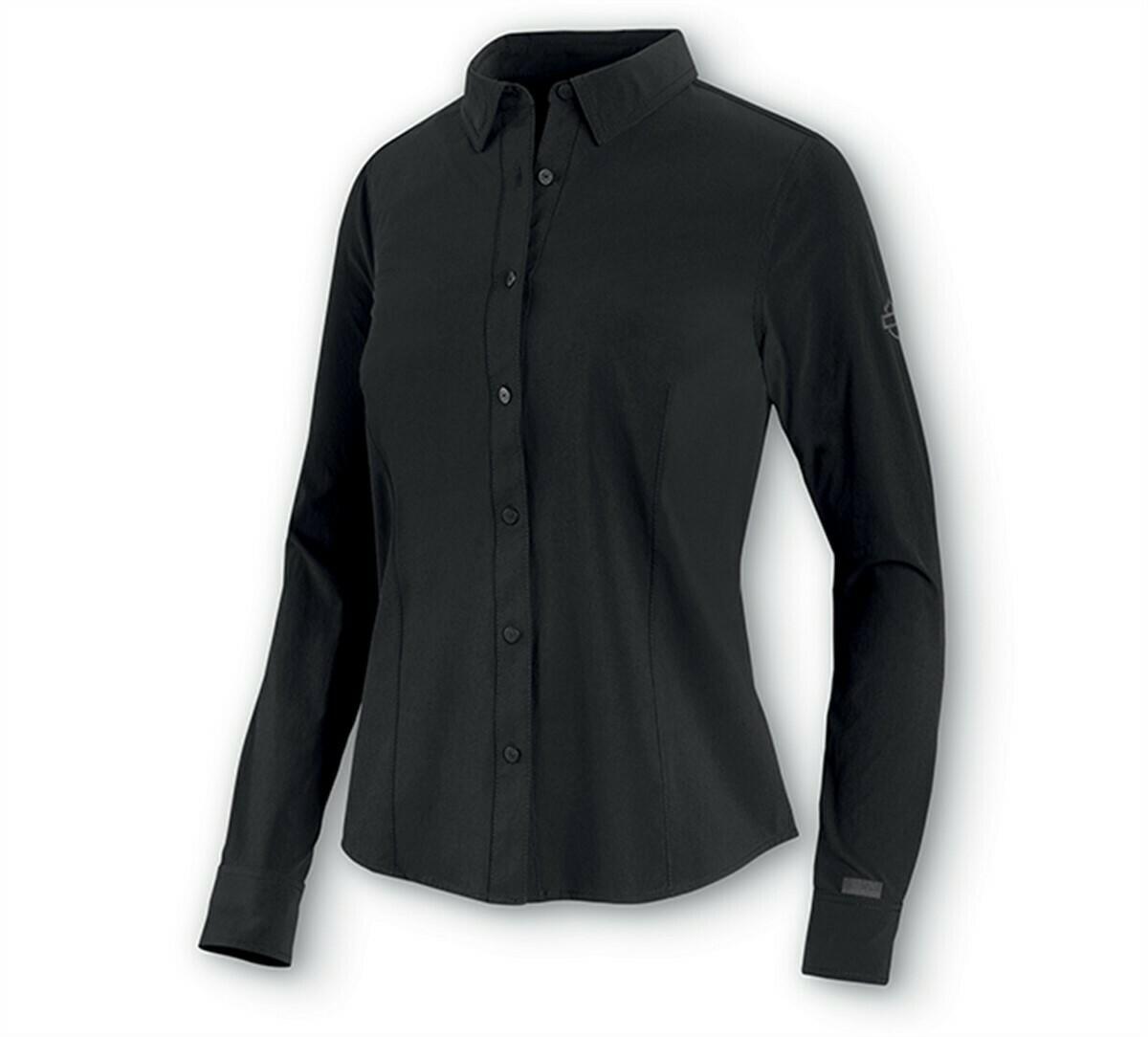 Shirt Women FOUR-WAY Stretch Poplin - H-D Moto Collection