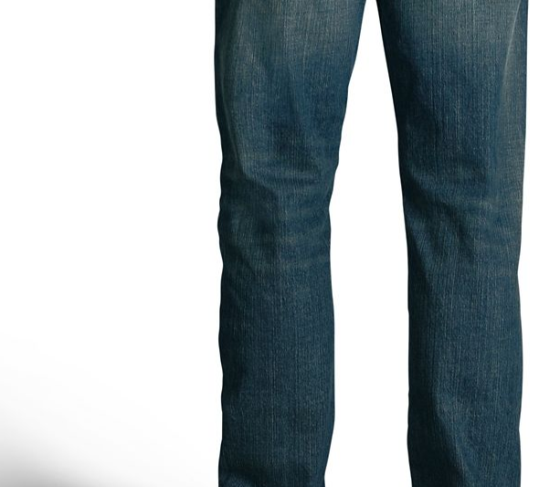 Jeans Men's Straight Leg Fit Modern Stretch Jeans