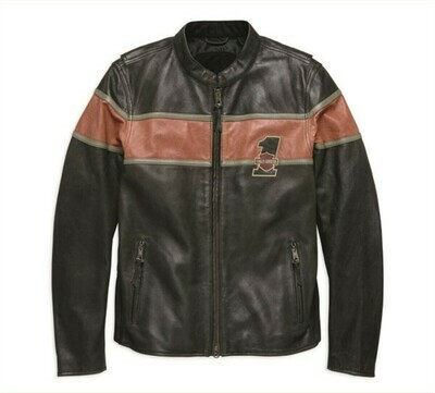 Jacket Men Victory Lane CE-Approved Riding Leather