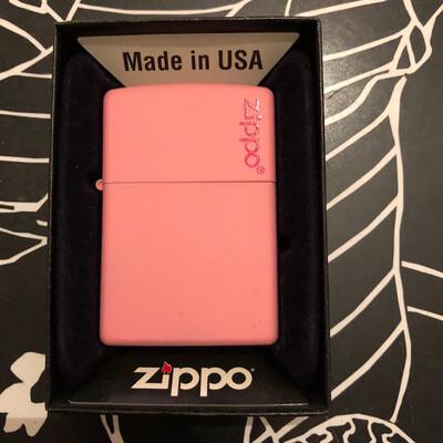 ZIPPO Logo Pink Mat