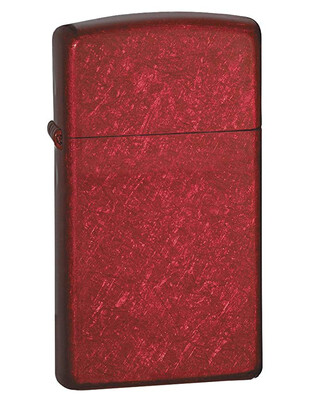 Zippo Slim® Candy Apple Red Lighter - Candy Apple Red