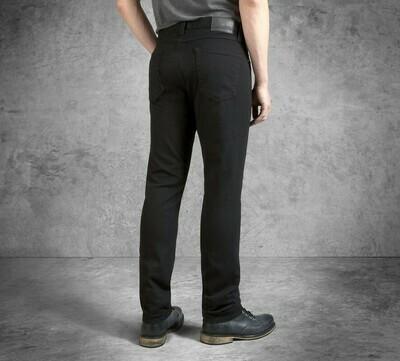 Men's Black Slim Fit Black Label Jeans